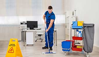 Commercial Cleaning in Biddenham